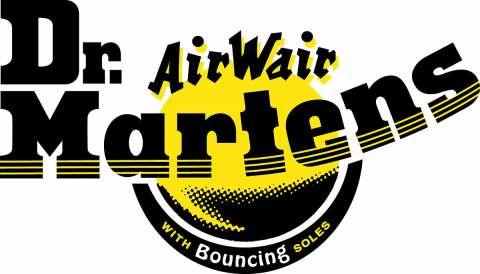 Company logo: dr. martens