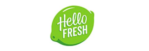 Company logo: hellofresh