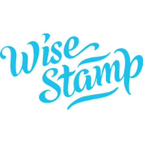Company logo: wisestamp