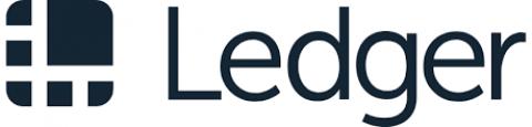 Company logo: ledger