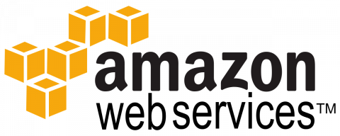 Company logo: amazon web services