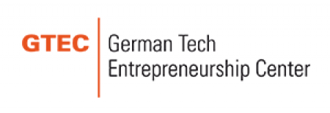 Company logo: gtec - german tech entrepreneurship center