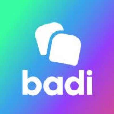 Company logo: badi