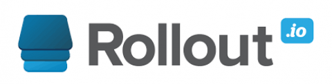 Company logo: rollout.io