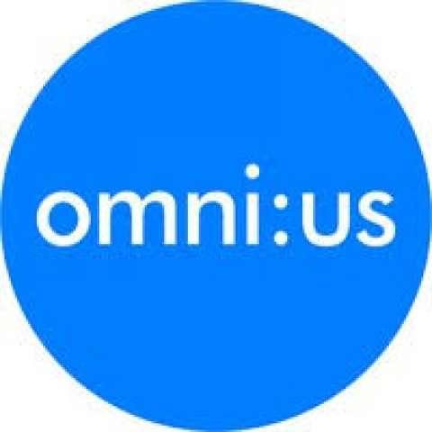 Company logo: omnius.