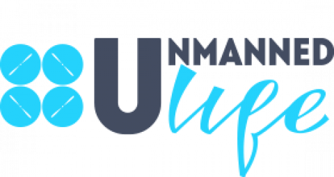 Company logo: unmanned life