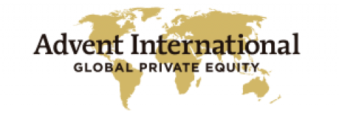 Company logo: advent international