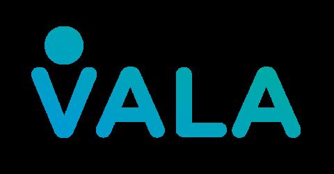 Company logo: vala