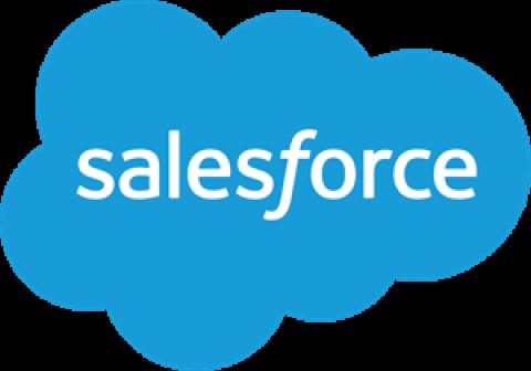 Company logo: salesforce
