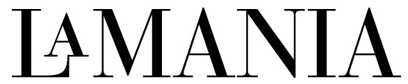 Company logo: la mania