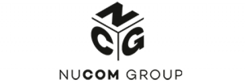 Company logo: nucom group