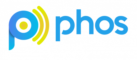 Company logo: phos
