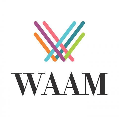 Company logo: waam
