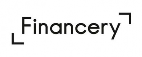 Company logo: financery
