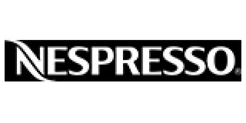 Company logo: nespresso