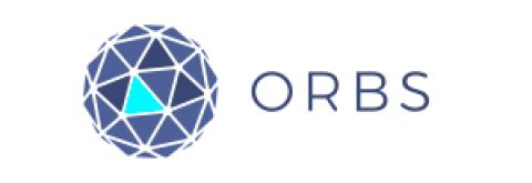 Company logo: orbs
