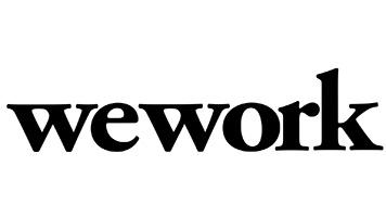 Company logo: wework