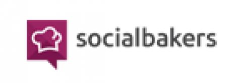 Company logo: socialbakers
