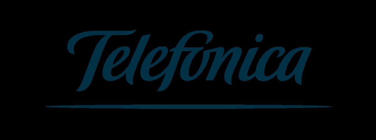 Company logo: telefonica