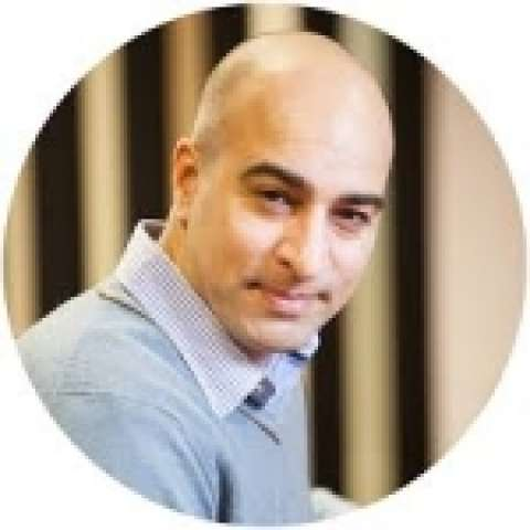 Person avatar: Anil Hansjee