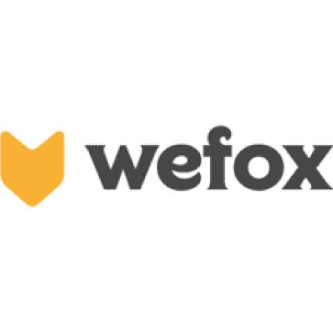 Company logo: wefox