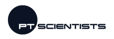 Company logo: ptscientists
