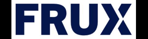 Company logo: frux
