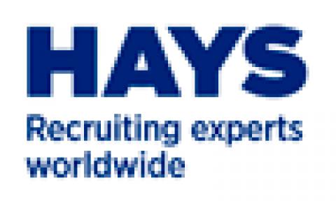 Company logo: hays