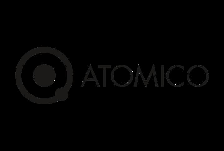 Company logo: atomico