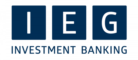 Company logo: ieg - investment banking group