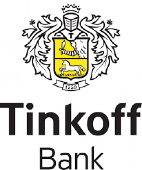 Company logo: tinkoff bank