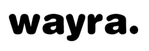 Company logo: wayra
