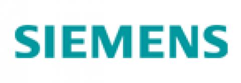 Company logo: siemens