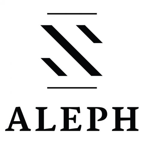 Company logo: aleph