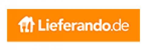 Company logo: lieferando