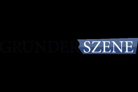 Company logo: gründerszene