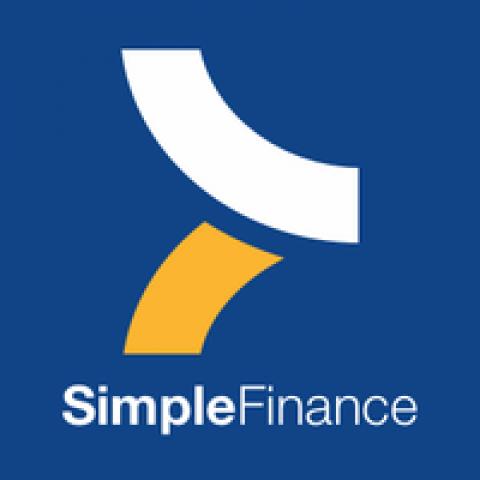 Company logo: simplefinance