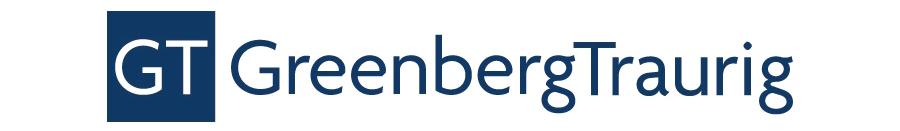Company logo: greenberg traurig