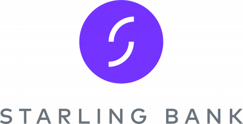 Company logo: starling bank