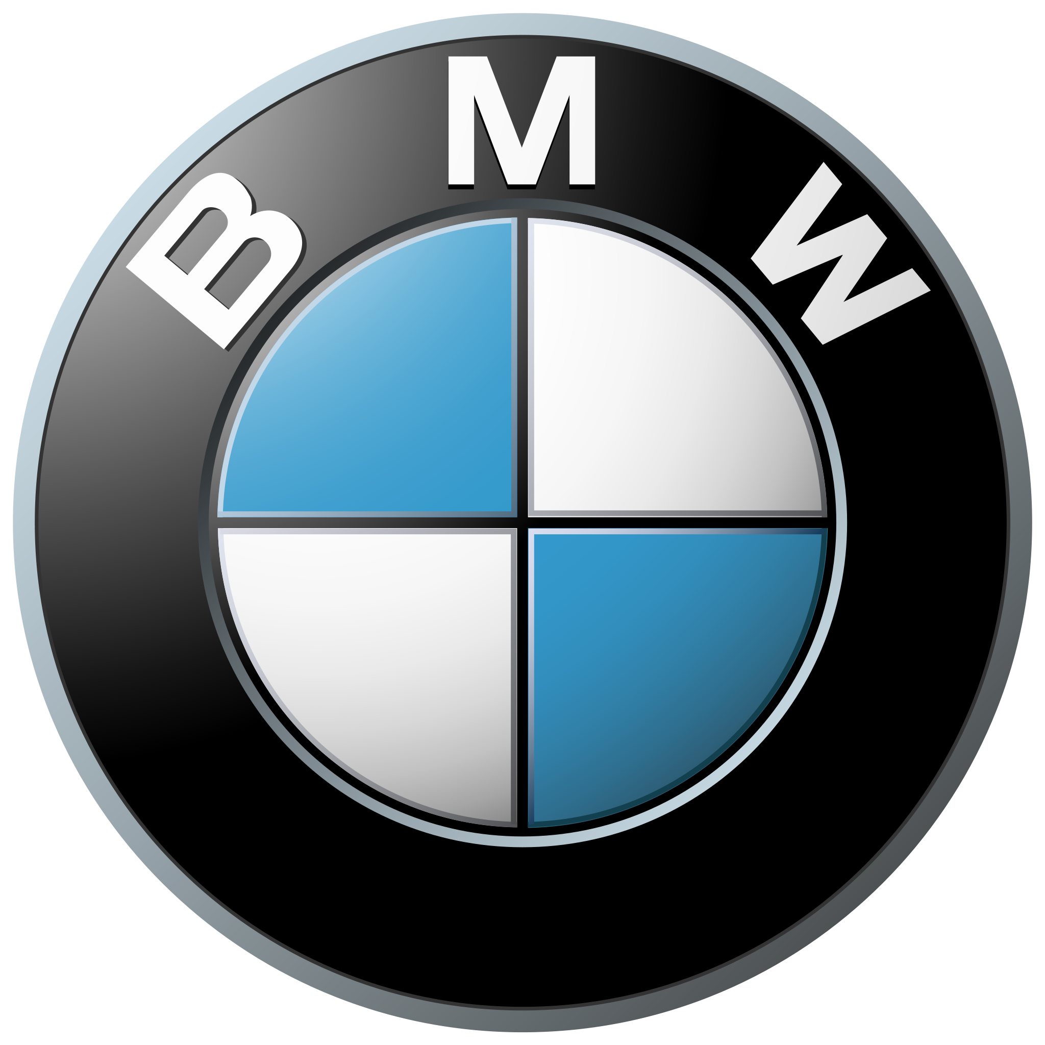 Company logo: bmw