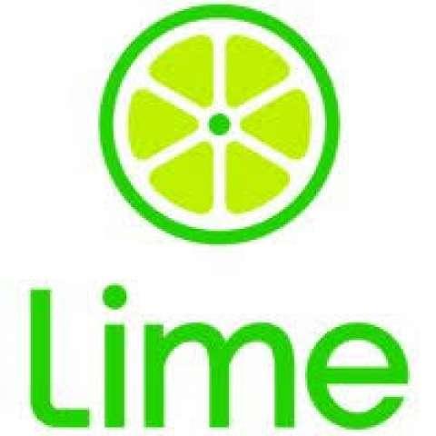 Company logo: lime