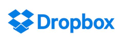 Company logo: dropbox
