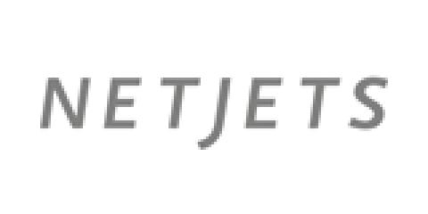 Company logo: netjets
