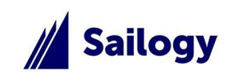 Company logo: sailogy