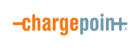 Company logo: chargepoint