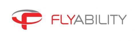 Company logo: flyability
