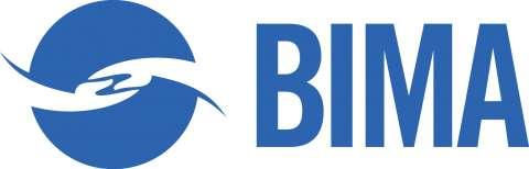 Company logo: bima