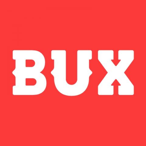 Company logo: bux
