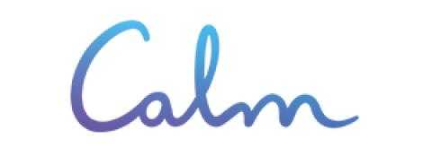 Company logo: calm