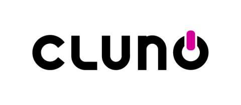 Company logo: cluno